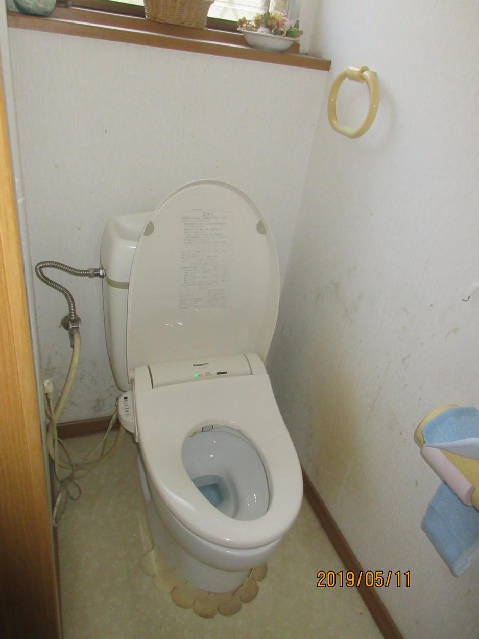豊田市 トイレ リフォーム 壁パネル New Passo パネルを貼ってお掃除しやすくなりました トイレ リフォーム豊田市 住宅 キッチンのリフォームや外壁塗装は豊田市のヤマハナへ